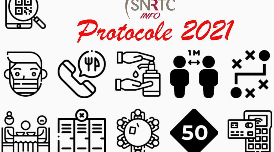 URGENT / Protocole Sanitaire Renforcé HCR MAI 2021